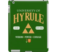 Classic University Crest iPad Case/Skin