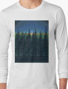 Moonrise at Twilight Starshine Long Sleeve T-Shirt
