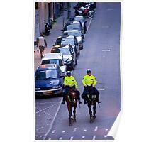 Equestrian Cops Poster