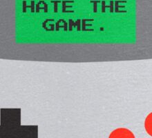 Player Hater Sticker