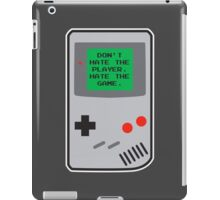 Player Hater iPad Case/Skin
