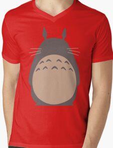 My Neighbor Totoro - Two Colour Mens V-Neck T-Shirt