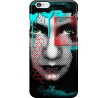 A Girl... An abstract reflection. iPhone Case/Skin