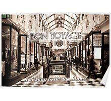 Melbourne Card Poster