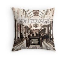 Melbourne Card Throw Pillow