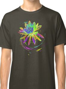 Psychedelic Tropical Flower  Classic T-Shirt