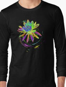 Psychedelic Flower  Long Sleeve T-Shirt