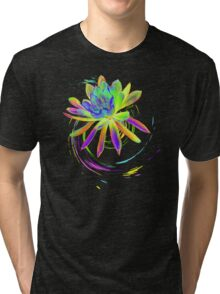 Psychedelic Flower  Tri-blend T-Shirt