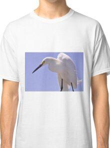 Snowy Egret, As Is.............Elvis? Classic T-Shirt