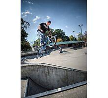 Bike Jump Photographic Print