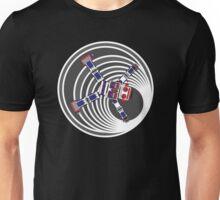 Robot In Blackhole Unisex T-Shirt
