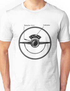 Driving Wheel / Column shift Unisex T-Shirt