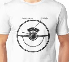 Driving Wheel / Column shift Unisex T-Shirt