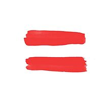 Equality Sign Paint Red by GodsAutopsy