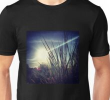 Tall Grass Letting Sunshine Poke Through Unisex T-Shirt