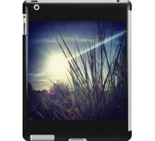 Tall Grass Letting Sunshine Poke Through iPad Case/Skin