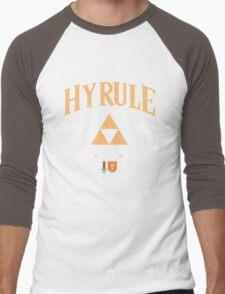 Classic University Crest Men's Baseball ¾ T-Shirt
