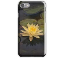 Zen lily for iPhone iPhone Case/Skin