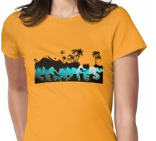 Cenotes! Womens Fitted T-Shirt