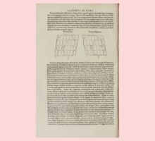 Famous Painter Parts Human Body Symmetry Four Books Geomety 1557 Albrecht Durer 0172 Heads Baby Tee