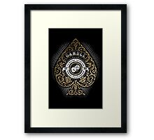 Gamble Framed Print