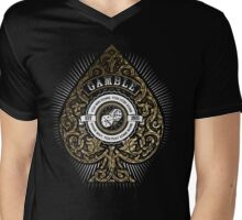 Gamble Mens V-Neck T-Shirt