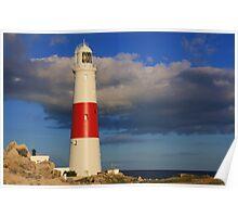 Portland Bill Lighthouse, Dorset Poster