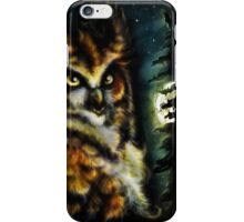 Great Horned Owl: Tiger of the Air iPhone Case/Skin