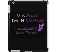 Dasmel In Distress! iPad Case/Skin