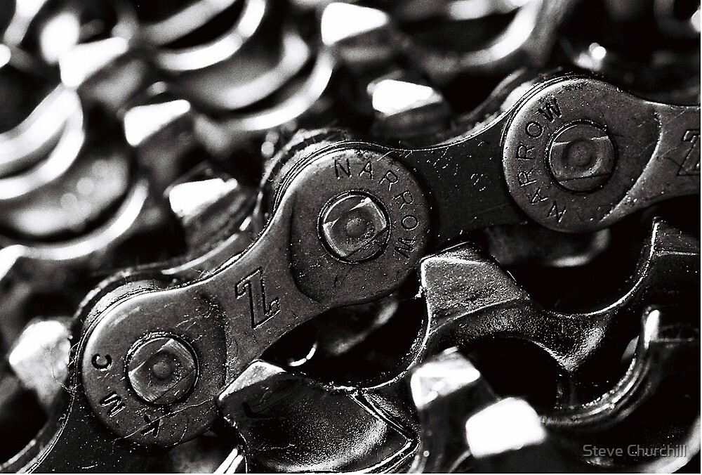Chain and Sprockets by Steve Churchill
