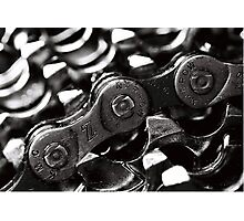 Chain and Sprockets Photographic Print