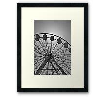 Wheelie Wonderful Framed Print
