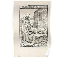 Opera Hrosvite, Illustrious virgin nun and genuine Albrecht Durer 1501 0030 Poster