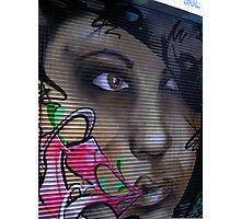 Graffiti Girl 2 Photographic Print