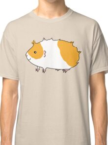 Rough Haired Two Tone Guinea-pig Classic T-Shirt