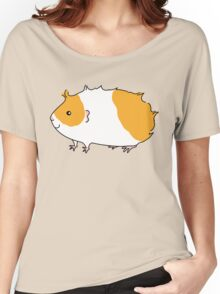 Rough Haired Two Tone Guinea-pig Women's Relaxed Fit T-Shirt