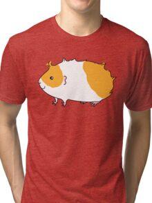 Rough Haired Two Tone Guinea-pig Tri-blend T-Shirt