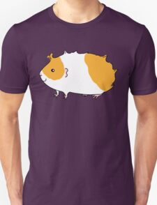 Rough Haired Two Tone Guinea-pig T-Shirt