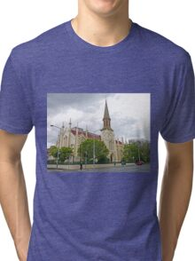 Storm over St Andrews Tri-blend T-Shirt