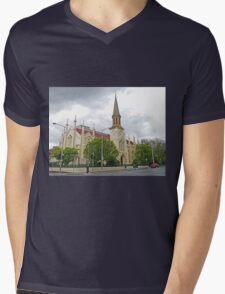 Storm over St Andrews Mens V-Neck T-Shirt
