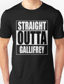 Straight OUTTA Gallifrey - Dr. Who Unisex T-Shirt