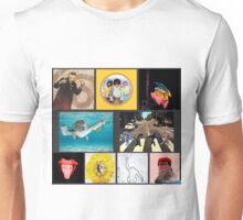 Monkey Album Art Unisex T-Shirt