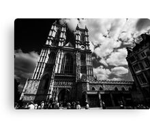 Gothic Church of Westminster Canvas Print