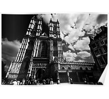 Gothic Church of Westminster Poster