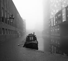 Birmingham Canal in Winter by Tim Cornbill