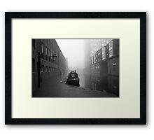Birmingham Canal in Winter Framed Print