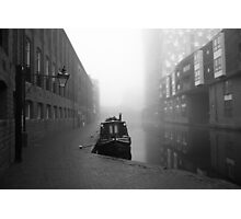 Birmingham Canal in Winter Photographic Print