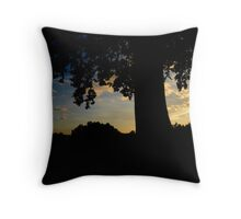To share the passing of a sunset.  Throw Pillow