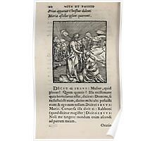 Contemplation Life and Passion Our Lord Jesus Christ Albrecht Durer 1557 0094 Poster