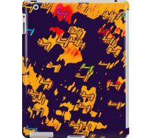 Blurred Christmas Lights with a Touch of Photoshop iPad Case/Skin